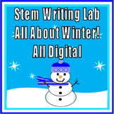 STEM/Writing Lab - All About Winter  - For Google Classroom