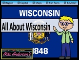 All About Wisconsin   US States   Activities & Worksheets