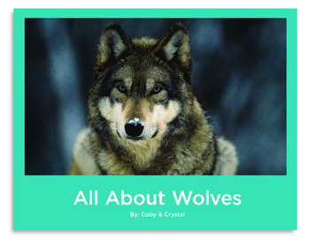 All About Wolves Non-Fiction Informative Book PK-1