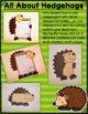 All About Woodland Animals-HEDGEHOGS! (crafts, writing act
