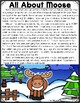 All About Woodland Animals-MOOSE! (crafts, writing activit