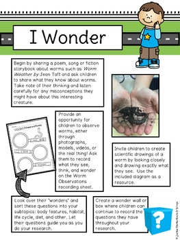 All About Worms (Nonfiction Informational Writing)