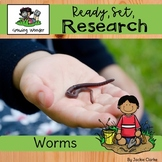 All About Worms (Nonfiction Informational Writing Animal Research Reports)