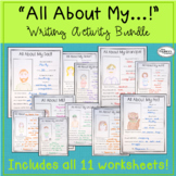 All About... Writing Activity Bundle!