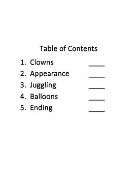 All About Writing Clowns