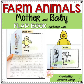 Informational Writing - Farm Animal Mother and Baby