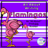 All About Writing: Flamingos - An All About Printable Booklet