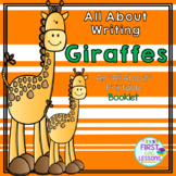 All About Writing: Giraffes - An All About Printable Booklet