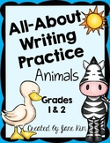 All-About Writing Practice: Grades 1 and 2