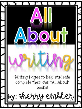 All About Writing --Student Books