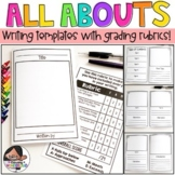 All About Writing Templates With Grading Rubrics