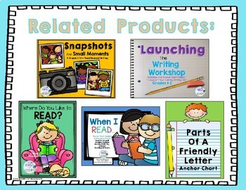 All About Writing: Tigers - An All About Printable Booklet