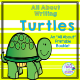 All About Writing: Turtles - An All About Printable Booklet