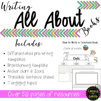 All About Writing Unit