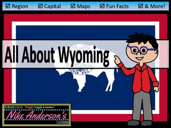 All About Wyoming | US States | Activities & Worksheets