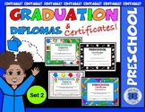 Preschool Diplomas Set 2
