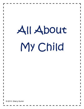 All About Your Child