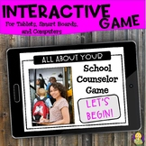 All About Your School Counselor Interactive Digital Game