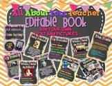 All About Your Teacher EDITABLE Book!