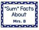 All About Your Teacher - EDITABLE Bulletin Board