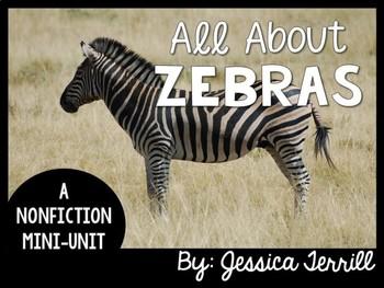 All About Zebras: A Nonfiction Mini-Unit