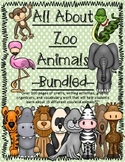 All About Zoo Animals-Bundled! (informative text, crafts, vocab, & much more)
