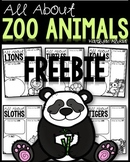 All About Zoo Animals - FREEBIE