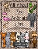 All About Zoo Animals-Lion (informative text, crafts, vocab. & much more!)