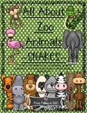 All About Zoo Animals-SNAKES! (crafts, informative text, vocab, & much more)