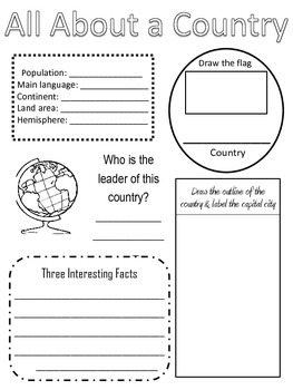 All About a Country - Social Studies - History