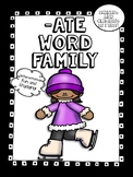 -ate Word Family Activity Pack! - No Prep! Word Work!