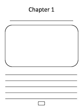 All About book template, informational writing, writer's workshop