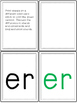 All About er - Word Work and Lesson Plans for er