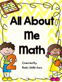 All About me, MATH!