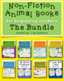 All About... non fiction animal books for beginning readers BUNDLE