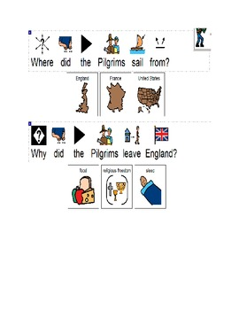 All About pilgrims book and test