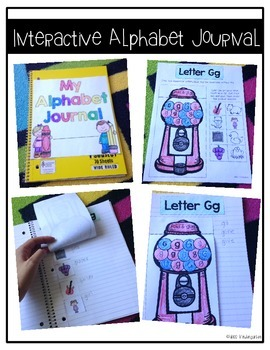 All About the ABCs D'Nealian Font Interactive Printables {Bundle}