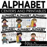 Alphabet Practice Activities and Interactive Alphabet Worksheets