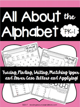 All About the Alphabet Activities