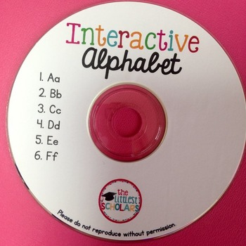 All About the Alphabet CD [Interactive Listening Center]