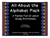 All About the Alphabet Packet