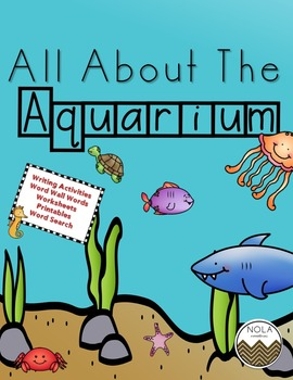 All About the Aquarium- No Prep!