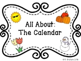 All About the Calendar File Folder Activity Package