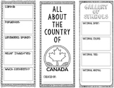 Canada - Research Project - Interactive Notebook - Government - Mini Book