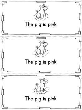 Color Pink Activities