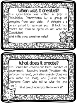 All About the Constitution Flipbook