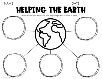 Earth Day Activities-Distance Learning