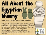 All About the Egyptian Mummy - Science Lab, Writing, and a