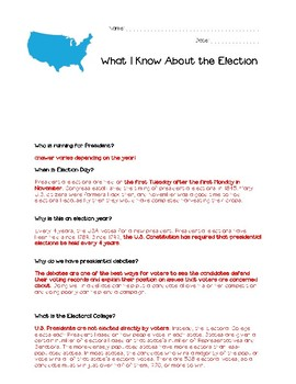 All About the Election