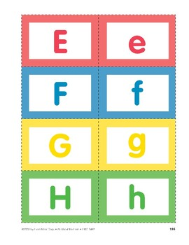 All About the Farm: Alphabet Cards
